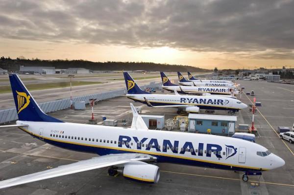 Novità Ryanair: 44 nuove rotte nel 2017, ecco quelle che interessano la Sicilia