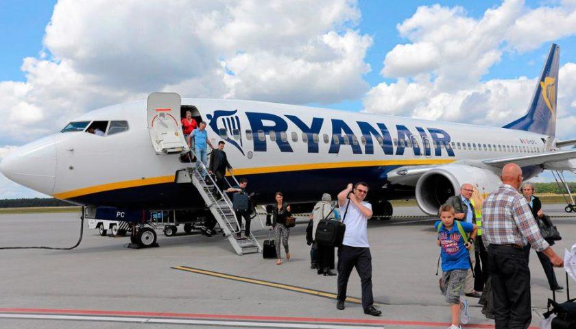 Offerte voli Ryanair: a settembre e ottobre voli a partire da 7,98 euro