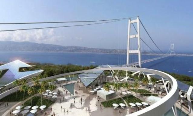 """Renzi rilancia il Ponte sullo Stretto: """"Chiamiamolo collegamento Napoli-Palermo ma facciamolo"""""""