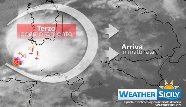 Sicilia, nuovo sistema temporalesco pronto a colpire l'isola nelle prossime ore…|Segui Live
