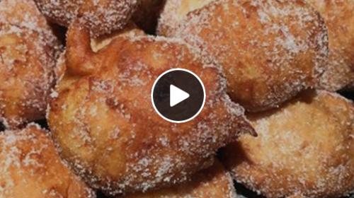 Le Sfince siciliane natalizie – RICETTA e VIDEO di preparazione!