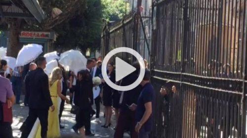 d08115f9e9d6d Palermo, Matrimonio Belotti  l entrata in Chiesa di Giorgia Duro  IL VIDEO