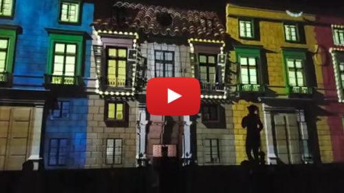 Palermo, la favola del Natale in un imponente Videomapping a Piazza Pretoria 🎅 IL VIDEO 🎥