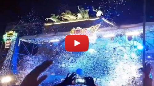 Capodanno, riviviamo il countdown e la festa in Piazza Politeama a Palermo 🎆 VIDEO 🎥