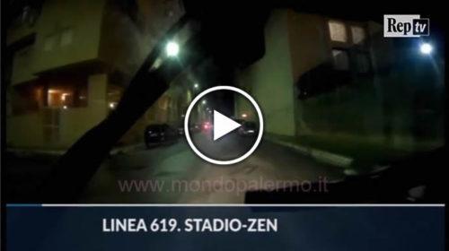 """Palermo, viaggio nel bus per lo Zen. Gli autisti: """"Ci tirano di tutto"""" 🚍 VIDEO 🎥"""