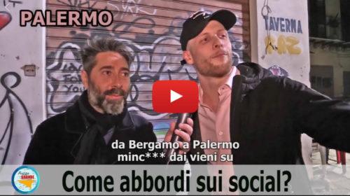 Palermo VS Milano, i ragazzi come abbordano sui social? 😂 VIDEO