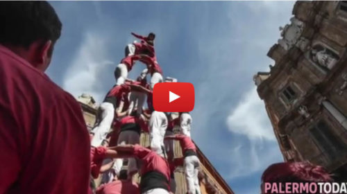Canti, balli e colori invadono il centro: la festa del Mandorlo in Fiore conquista Palermo 🎥 VIDEO