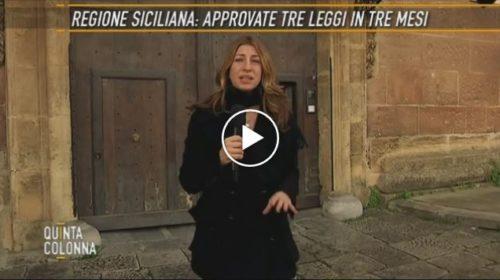 Quinta Colonna – Regione Sicilia, in tre mesi approvate soltanto tre leggi 📺 VIDEO 🎥