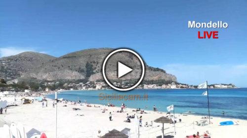 Palermo IN DIRETTA, +27°C e a Mondello si fanno i bagni ☀ GUARDA 😍