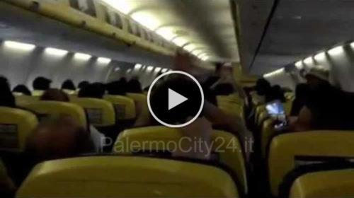Ryanair, Palermitano brillo molesta i passeggeri a bordo, aereo costretto tornare indietro – IL VIDEO 🎥
