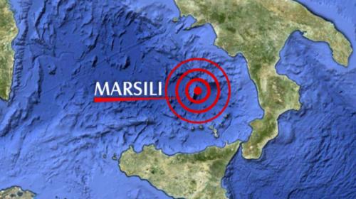 Forte scossa di terremoto nel basso Tirreno, epicentro proprio sul vulcano sommerso Marsili