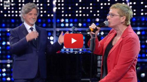 La Corrida, palermitana imita la Nannini, Consoli e Oxa: standing ovation finale 📺 VIDEO 🎥