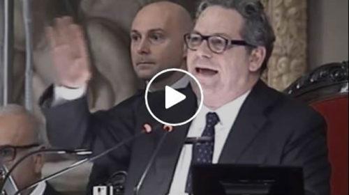 """Finanziaria Regione Sicilia, Miccichè: """"Sospendiamo per vedere Inter-Juventus"""" 🎥 IL VIDEO"""