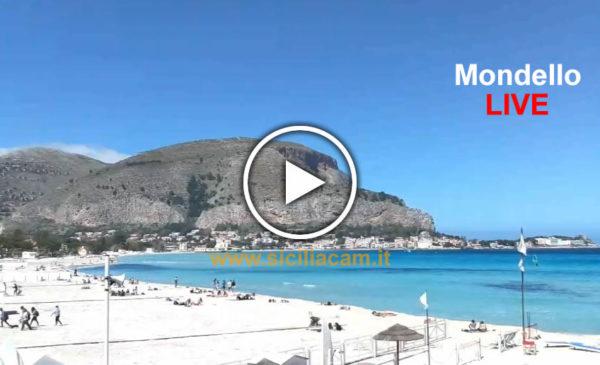Palermo IN DIRETTA, +22°C Mondello è caraibica ☀ GUARDA 😍