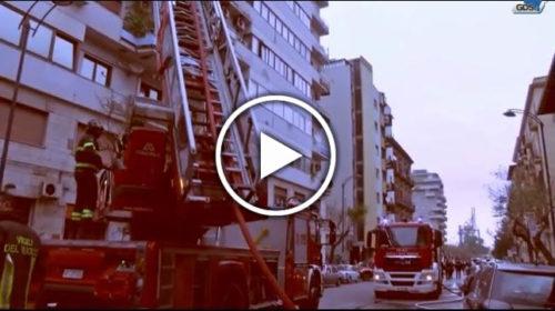Esplosione in un appartamento a Palermo, ecco il VIDEO da Via Enrico Albanese – GUARDA!