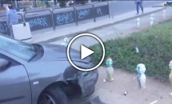 Paura e feriti in un incidente a Palermo, le immagini dal Foro Italico – VIDEO 🎥