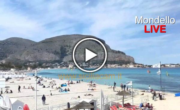 Palermo IN DIRETTA, +21°C Mondello presa d'assalto ☀ GUARDA 😍