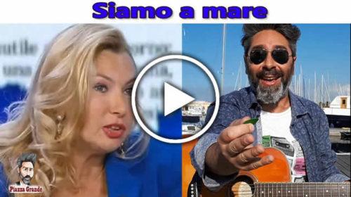 """""""Al Sud non possono andare in vacanza"""" – Stefano Piazza le 'canta' alla Biancofiore 😂 VIDEO 🎥"""