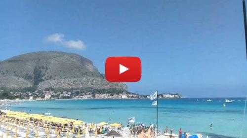 Palermo, GUARDA le spettacolari immagini da Mondello ☀ IN DIRETTA 🎥