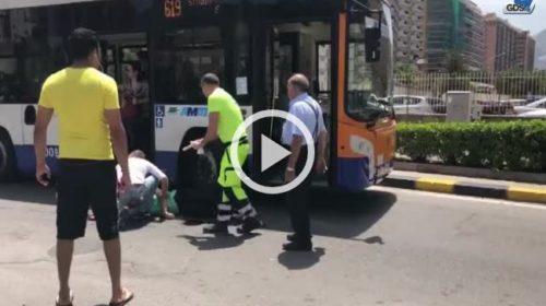 Corre verso la fermata e viene travolta da un autobus a Palermo: ferita 🎥VIDEO