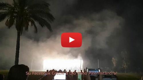 Fuochi d'artificio, la colonna sonora di Ennio Morricone fa emozionare il Foro Italico 🎥 VIDEO