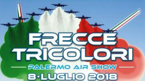 Palermo, è il giorno delle Frecce Tricolori: Segui qui la DIRETTA dal Foro Italico!