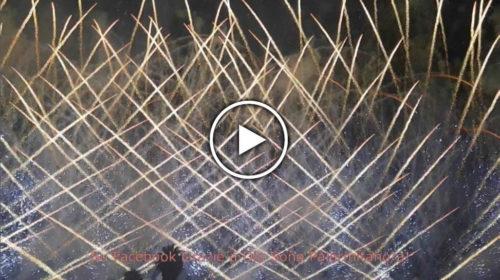 """Palermo – La parte finale dei fuochi d'artificio sulle note di """"Nessun Dorma"""" 🎥 GUARDA"""