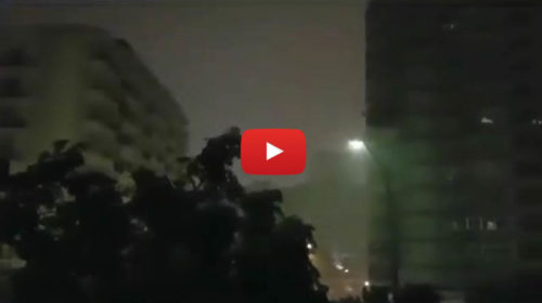 Violento temporale a Palermo, tuoni come bombe e black-out ⚡ IL VIDEO🎥