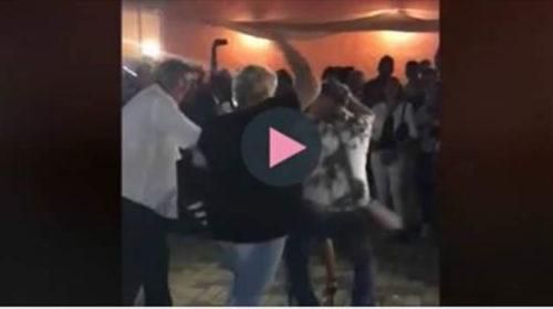 Si scatena con la ballerina, la moglie lo schiaffeggia davanti a tutti 🎥 VIDEO