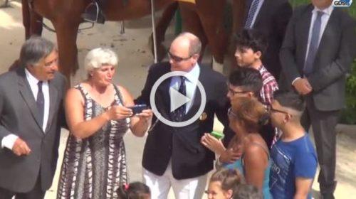 """Cittadinanza onoraria di Palermo per Alberto di Monaco: """"Non dimenticherò mai questo giorno"""" 🎥 VIDEO"""