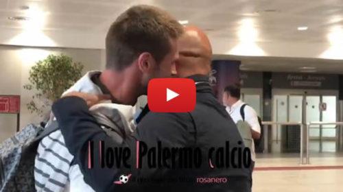 VIDEO: Stellone atterra a Palermo, subito incontro speciale per il tecnico rosanero