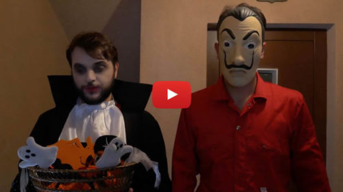 I Sansoni – La festa di Halloween al SUD 😂 VIDEO 🎥