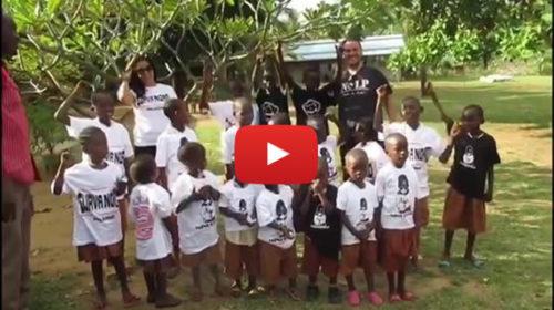 "I bambini Africani cantano ""Forza Palermo"" 🎥 VIDEO"
