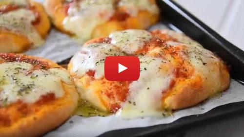 VIDEO RICETTA: Prepariamo le pizzette siciliane