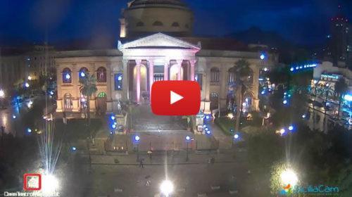 Palermo, il Teatro Massimo si colora di rosa per la prevenzione dei tumori al seno 🎥 GUARDA!