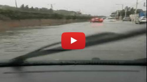 Allagamenti a Palermo, ecco la situazione in Viale Regione 🎥 VIDEO