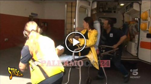 Striscia, Le brutali Immagini dell'aggressione a Stefania Petyx e al suo operatore 🎥 VIDEO