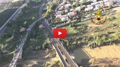 I luoghi delle tragedia in Sicilia dall'elicottero dei Vigili del Fuoco 🎥 VIDEO