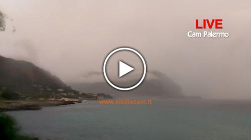 Piogge intense e persistenti su Palermo da questa mattina, ecco le immagini IN DIRETTA 🎥