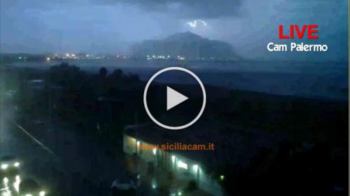 Temporale su Palermo: Ecco le immagini IN DIRETTA dalle webcam in città