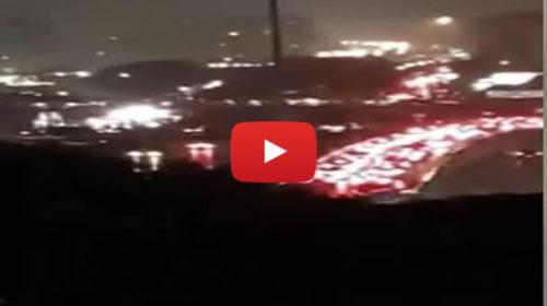 Maltempo su Palermo, traffico in tilt nel sottopassaggio di Viale Lazio 🎥 VIDEO