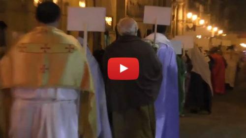 """A Palermo la """"sfilata dei santi"""" come alternativa ad Halloween 🎥 VIDEO"""