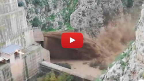 Palermo, le dighe svuotate dal fango 🎥 VIDEO