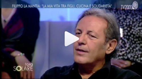 """Lo Chef Filippo La Mantia intervistato a Tv2000: """"Sono orgogliosamente palermitano"""" 📺 VIDEO"""