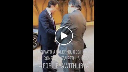Palermo, inizia il summit sulla Libia: l'arrivo del Premier Conte a Villa Igiea 🎥 VIDEO