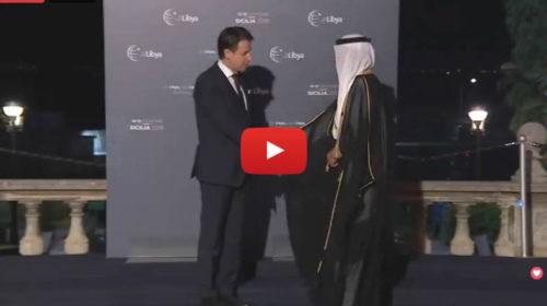 Conferenza Libia a Palermo, il Presidente Conte accoglie i Capi Delegazione 🎥 VIDEO