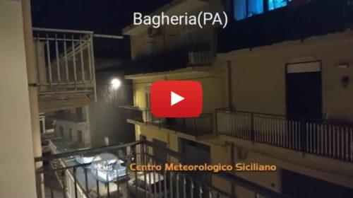 Maltempo arriva anche sul Palermitano, ecco le immagini da Bagheria 🎥 VIDEO