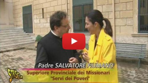 Striscia, Stefania Petyx e i parcheggi infiniti di un sacerdote a Palermo 📺 VIDEO