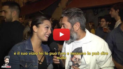 """Stefano Piazza ai palermitani: """"Qual è il tuo vizio?"""" Risposte imperdibili 😂 VIDEO 🎥"""