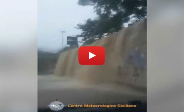 Maltempo, situazione critica a Caltanissetta: cascate di fango e strade impraticabili 🎥 IL VIDEO